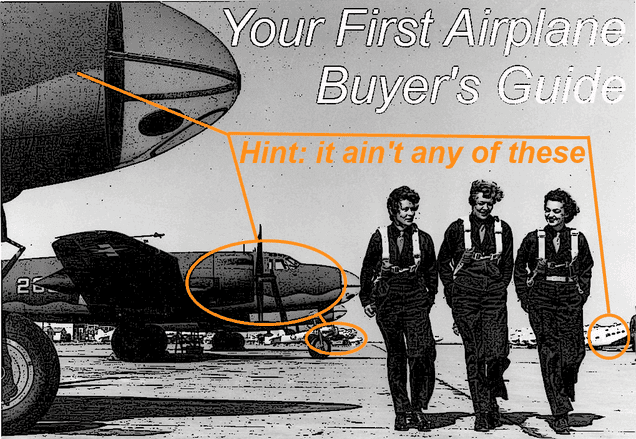 Your First Airplane: A Buyer's Guide