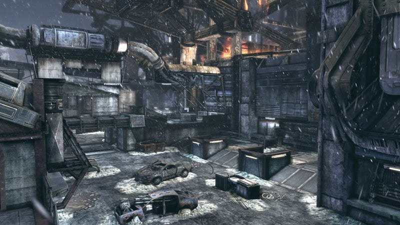 Gears Of War 2 Gets Snowblind