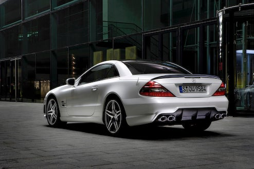 Mercedes Watches SL63 AMG with Edition IWC