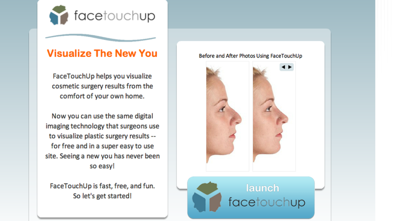 Do-It-Yourself Virtual Plastic Surgery is Pretty Underwhelming