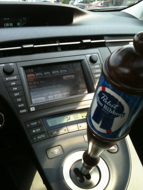 PBR Prius Shift Knob: The Ultimate Hipster Car Accessory