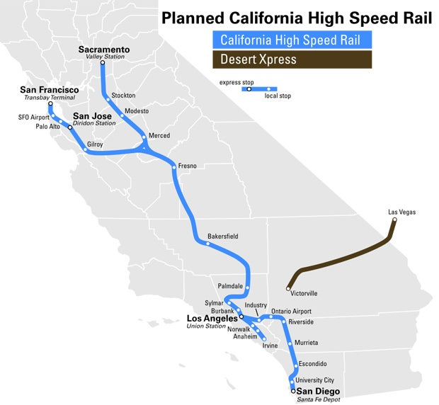 California's High-Speed Rail System: What It Is And Why You Should Care