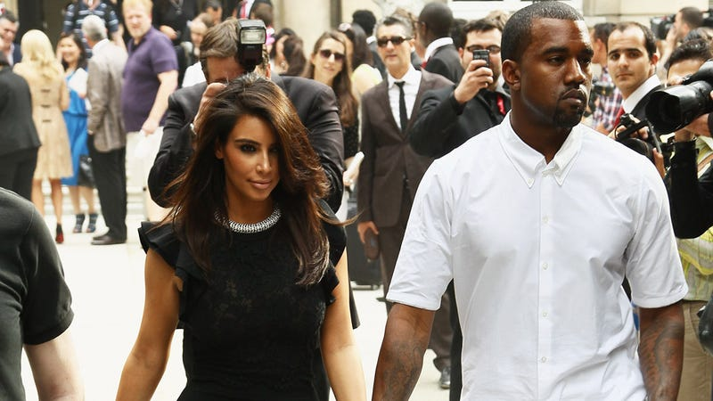 Kanye and Kim Refuse to Make Eye Contact With the Likes of You