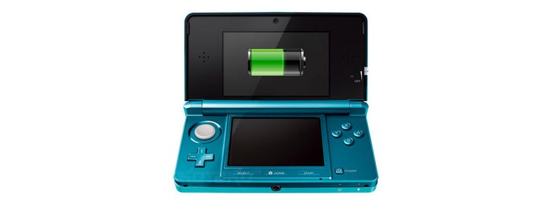 You'll Get 3-8 Hours Out Of A Nintendo 3DS Battery