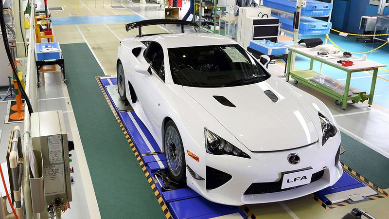 The Last Lexus LFA Supercar Was Built On Friday