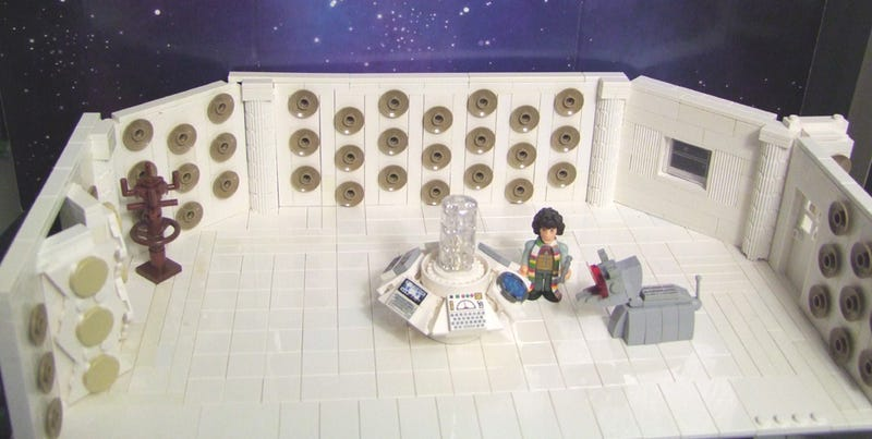 Everything is awesome when you have a Lego TARDIS!