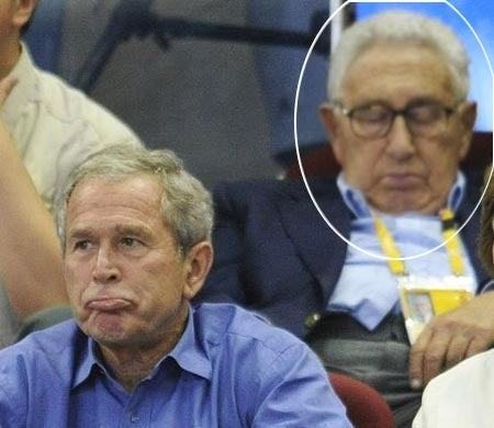 Henry Kissinger Has Olympic Fever!