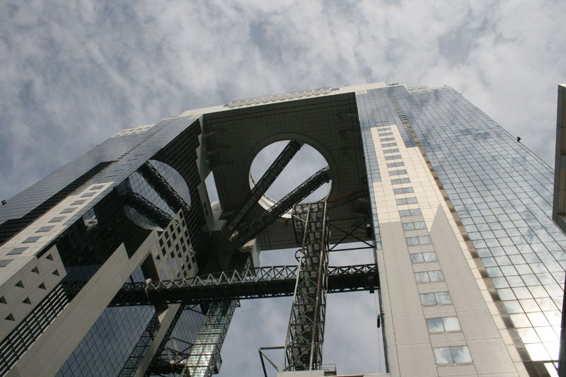 Touring the Umeda Sky Building and Riding the World's Highest Escalators