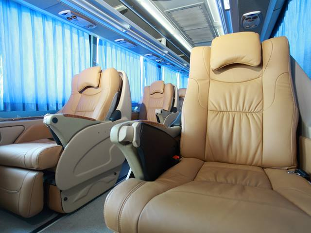 A Look Inside The Luxury Bus of Indonesia