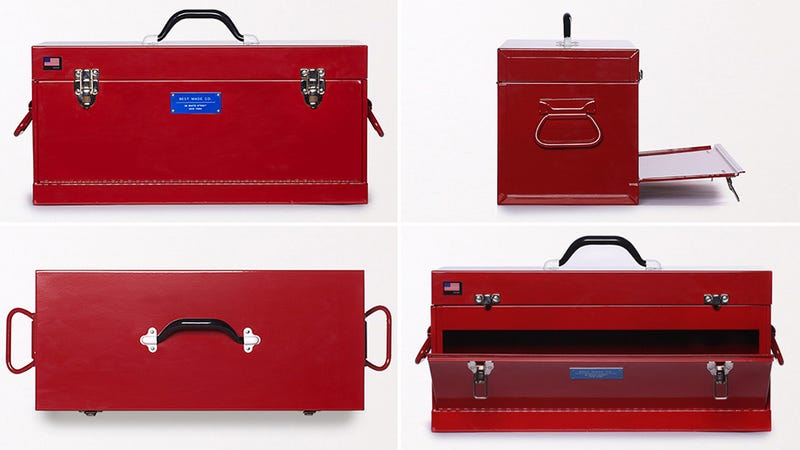 A Front-Loading Toolbox Means You'll Never Dig for Buried Pliers Again