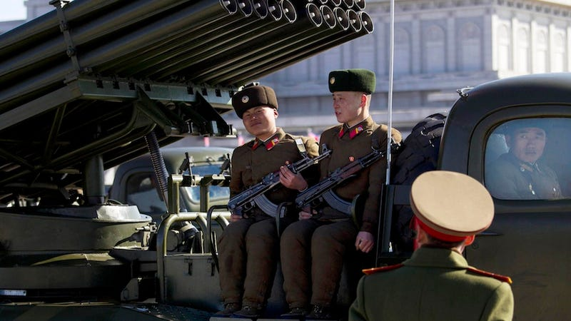 The Retro-Futuristic Spectacle of Military Parades in North Korea