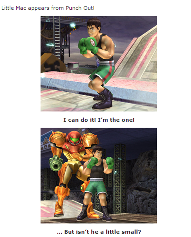 The Internet Reacts To Little Mac's Smash Bros. Reveal