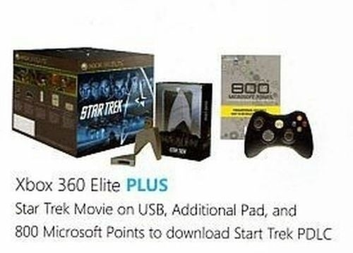 Xbox 360 Bundle With Star Trek and Transformers 2 Movies