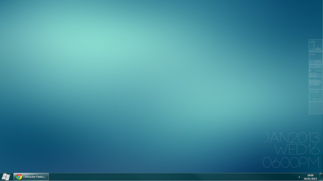 how to clean desktop screens