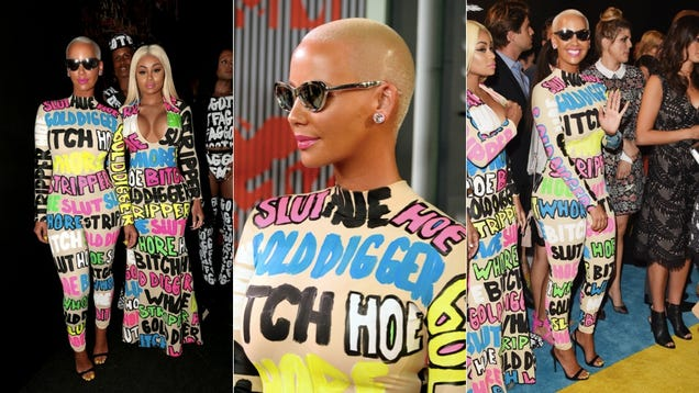 Amber Rose and Blac Chyna Turn the VMA Red Carpet Into a Slutwalk