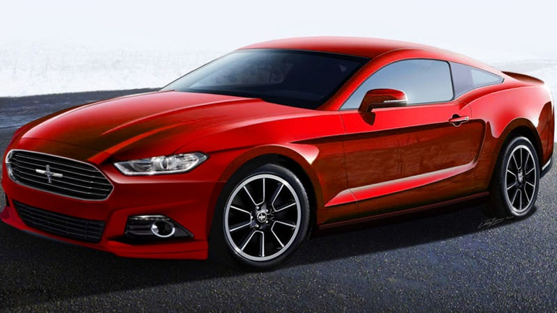 The 2015 Ford Mustang Could Go On A Massive Diet