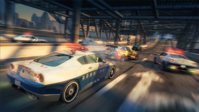 Burnout Paradise Has A Date With The Police