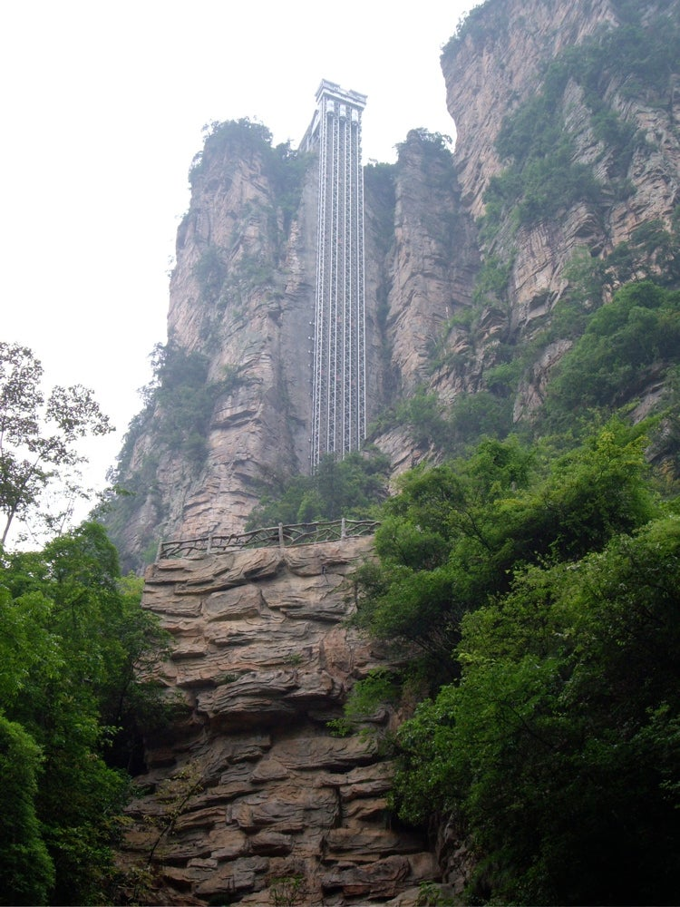World's Tallest Outdoor Glass Elevator Provides Great Views, Sheer Terror