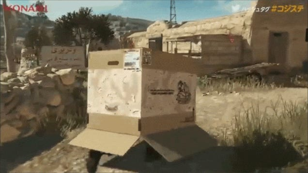 Metal Gear Solid V Is Full Of Silly Moments