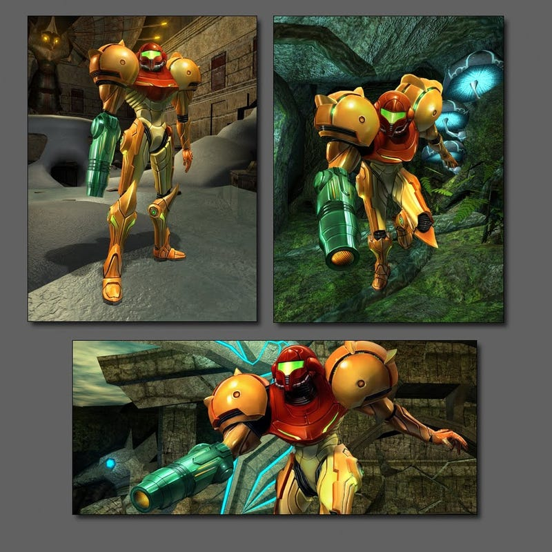 The Lucky Man Who Got To Build Samus For A Metroid Game