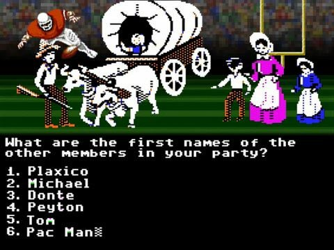 NFL Hitched to the Oregon Trail