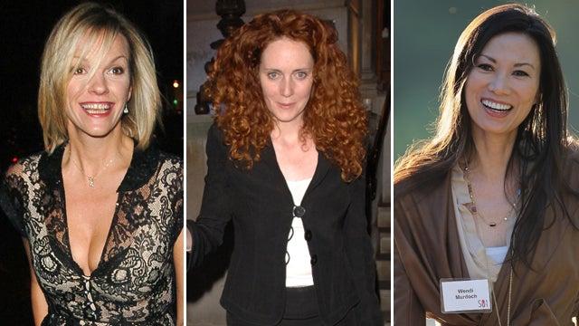 The Women In Rupert Murdoch's Life