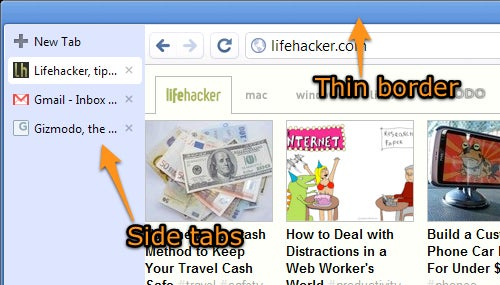 Move Your Tabs to the Side in Google Chrome for Widescreen-Friendly Browsing