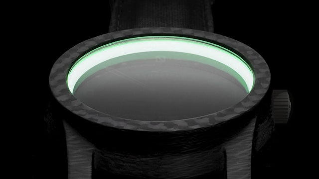 NASA-Developed Moonglow Material Keeps This Watch Glowing All Night