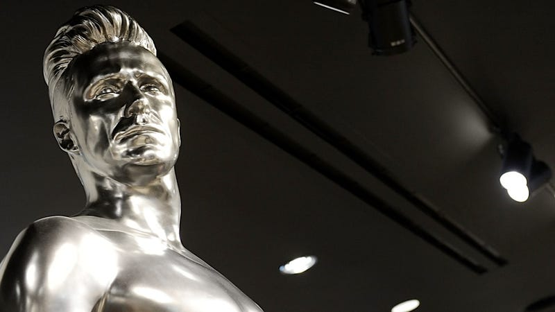 Carbonite David Beckham Is the Newest Decoration in Jabba the Hutt's Palace