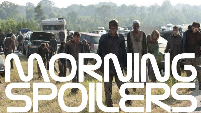 Spoilers galore for the Walking Dead premiere, plus an infamous Game of Thrones scene begins filming!