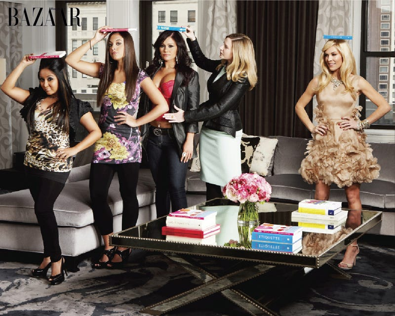 Bazaar Gives Jersey Shore Guidettes Elegant Makeovers