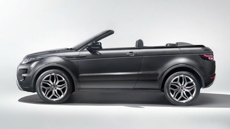 The Range Rover Evoque Convertible Makes Perverse Sense