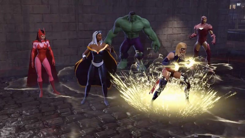 Avengers Assemble… for Free Codes for the Marvel Heroes Beta