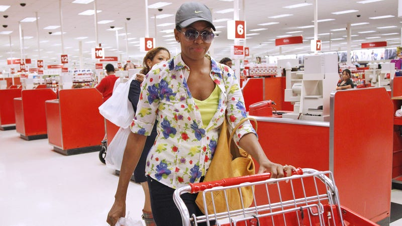 Michelle Obama Shops at Target, Just Like You