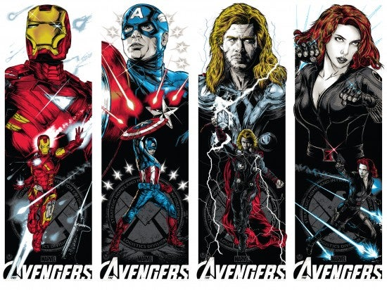 The Avengers Re-Imagined in Officially Licensed Art