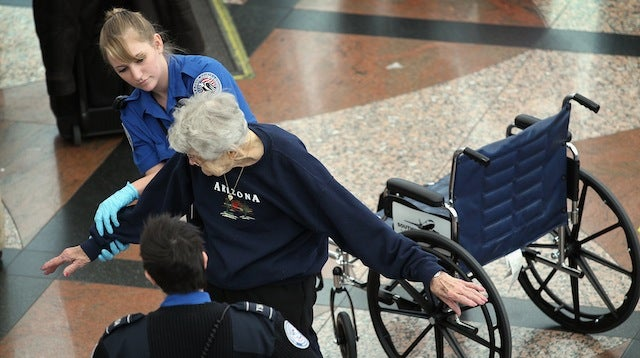 TSA Is Very Sorry They Strip Searched Two Old Ladies