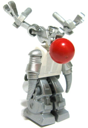 Reinbot: Rudolph The Red-Nosed Minifig