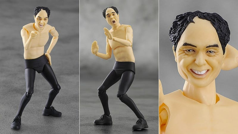 Dick Flashing Comedian, in Action Figure Form