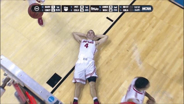 Dayton Upsets OSU, Has Pizza-And-Dance Party In Locker Room