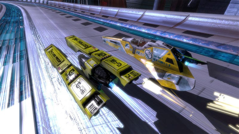 WipeOut HD Update Brings Ranks And Badges