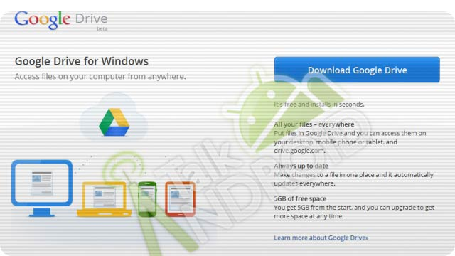 Google Drive Details Leak: 5GB for Free, Launching Next Week