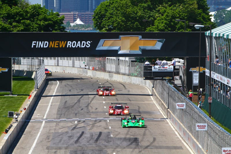 IMSA's Tudor United Sportscar Lands in Motown