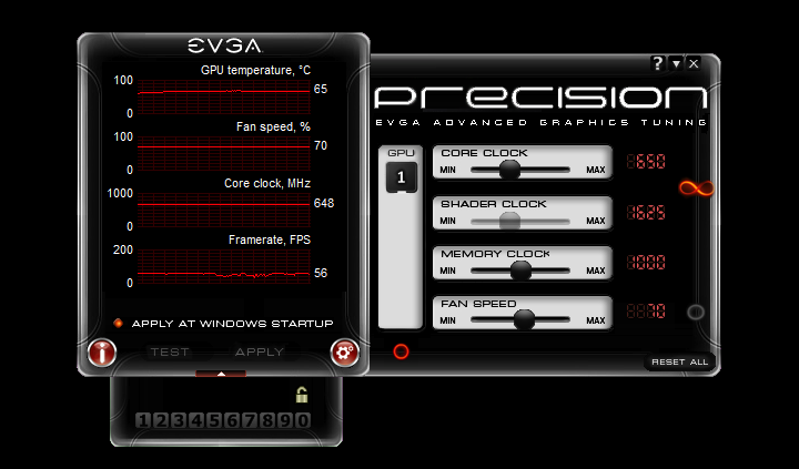 EVGA Precision Overclocks Your NVIDIA Graphics Card with Little Effort