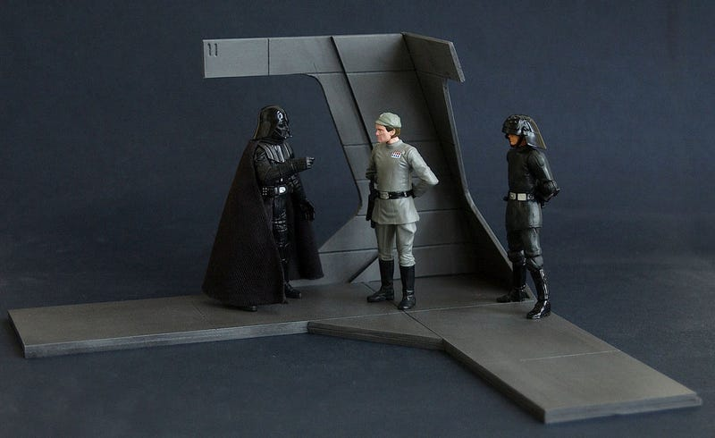 Perfect Recreations Of Star Wars Film Sets. For Your Action Figures.