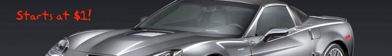 eBay 'Cyber Monday' Luxury Door Buster Might Include $1 Corvette