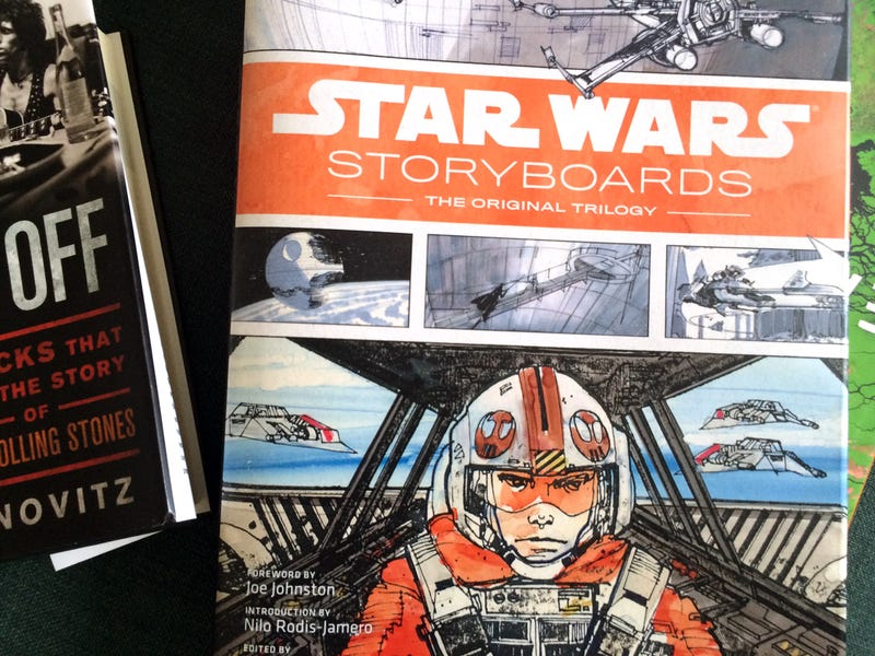 Every sci-fi fan should get this Star Wars Storyboards book