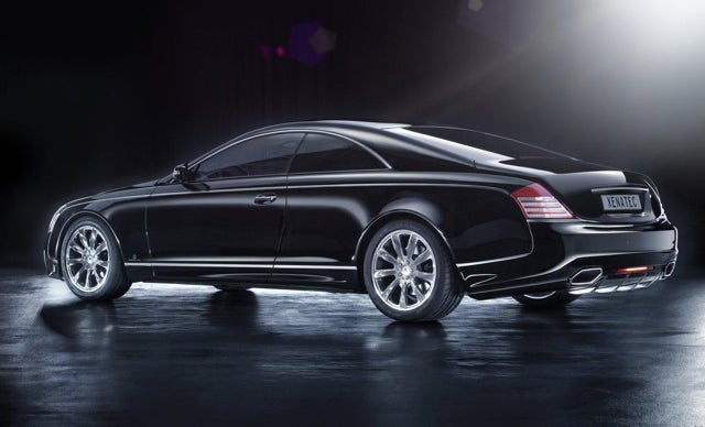 Saudi Hand-Builds Giant Maybach Coupe, Wants You To Buy It