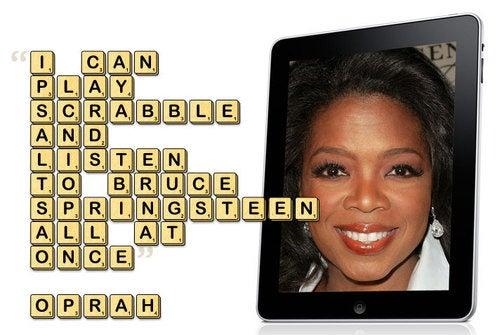 Oprah's Favorite iPad Apps