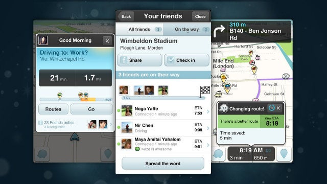 Waze Updates with Pickup Requests, ETA on Friend's Arrival, and More