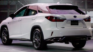 The 2016 Lexus RX Makes Driver Assistance Really Cheap